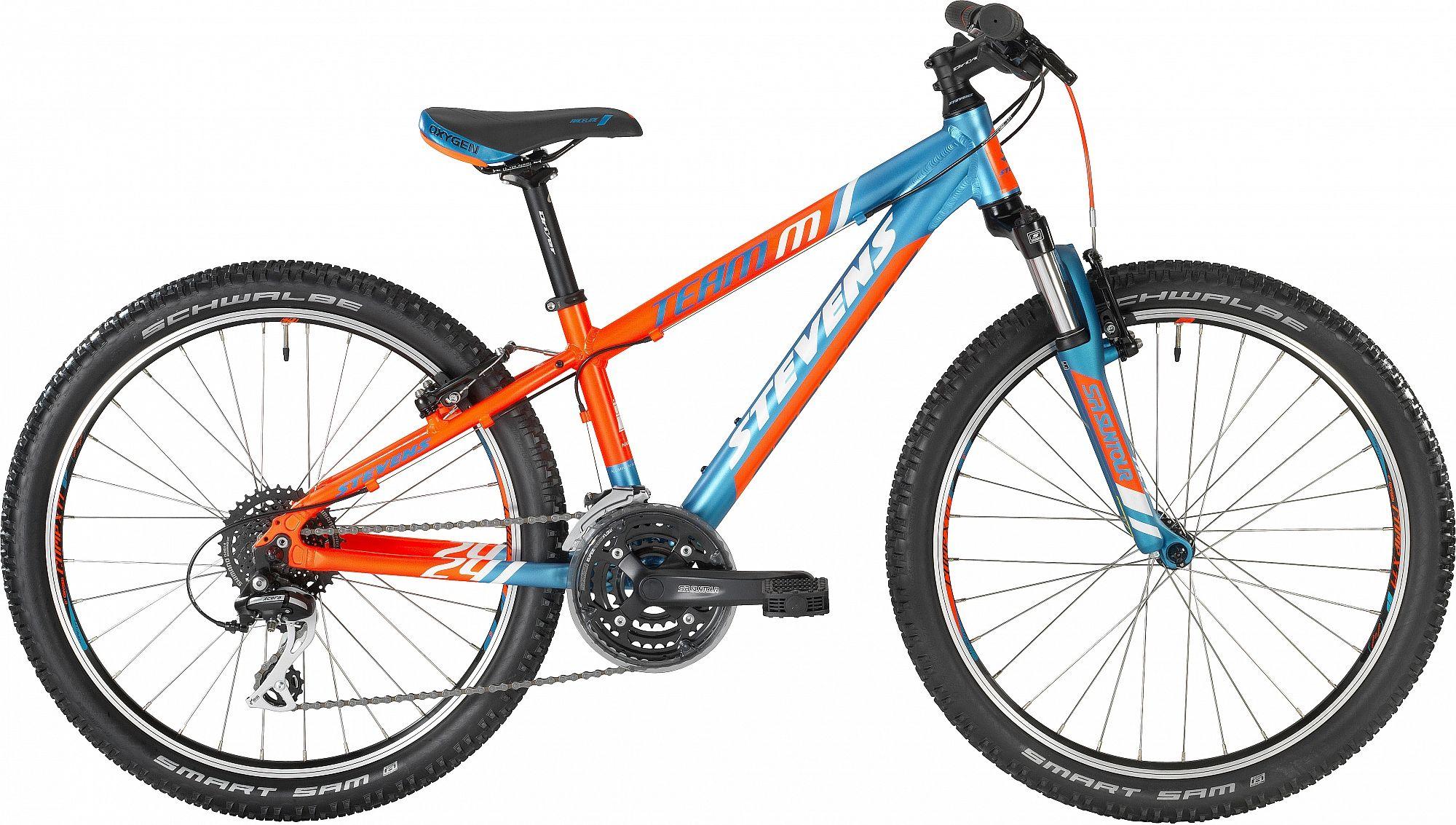 stevens 2018 team m 24 neon oran ov junior stevens bikes. Black Bedroom Furniture Sets. Home Design Ideas
