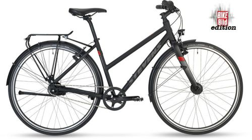 STEVENS 2020 CITY FLIGHT BIKE BILD EDITION LADY ČERNÁ
